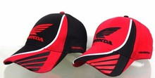Red and black Men F1 Race HONDA baseball Cap Motorcycle Car fans Caps caps Sun Hat