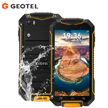 Original GEOTEL A1 IP67 Waterproof Shockproof Smartphone 4.5 inch Android 7.0 MTK6580 8GB ROM 1GB RAM 8MP Camera 3G Mobile phone(China)