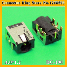 CK  NEW DC Power Jack for ASUS Laptop DC Jack Netbook Ultrabook Power socket Freeshipping  4.0*1.2mm,DC-190