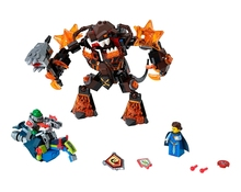 LEPIN Nexo Knights Infernox Captures Queen Combination Marvel Building Blocks Kits Toys Compatible Legoe Nexus - CyunSing Trading store