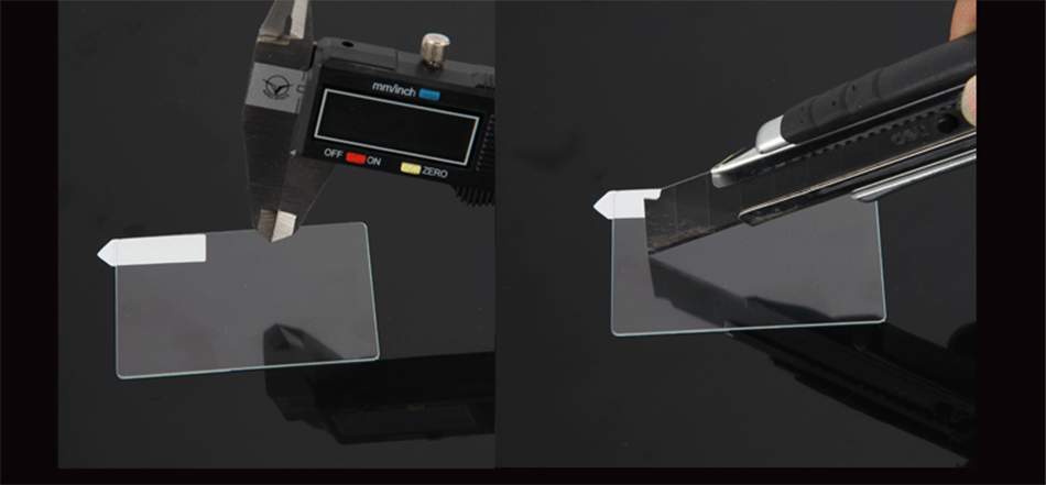 Original Tempered Glass Screen Protector For Nikon D90 D7000 D300 D700 D800E Special Screen LCD Camera Toughened Protective Film