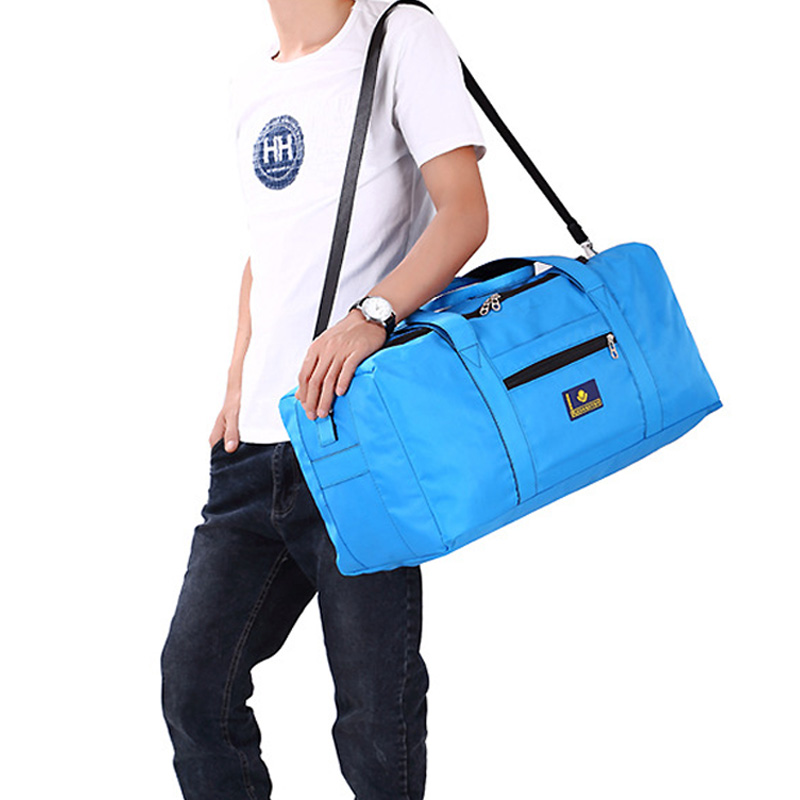 2015 man and woman large capacity waterproof nylon Suitcase travel bag one shoulder cross body bag Free Shipping<br><br>Aliexpress