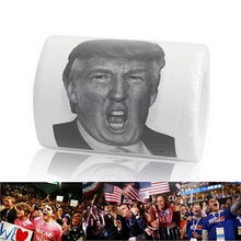 President Trump Hillary Barack Obama Toilet Paper TP Roll is Funny Novelty Gag Gift Idea Trump Hillary Toilet Paper(China)