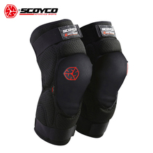 SCOYCO Pads Motorcycle Knee Protector Motocross Knee Protector Racing Guards Motorcycle Knee Pads Motorbike Moto Protective Gear(China)