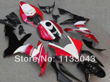 Injection mold 100%NEW red white black fairing kits for Yamaha YZF R1 04 05 06 YZF-R1 YZF1000 YZF R1 2004 2005 2006 Fairing