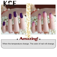 1pc Nail Gel Polish Temperature Change Nail Color UV Gel Polish 10ml Nail Gel  Dropship 0321A