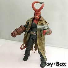 Movie HB Hellboy Cartoon Toy PVC Action Figure Model Doll Gift