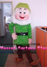 high quality Seven Dwarf costumes Colorful Santa Claus mascot cartoon costumes free shipping