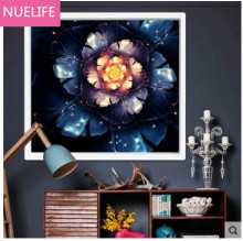 New cross stitch diamond painting large flower pattern wedding room living room bedroom TV sofa background decorative painting