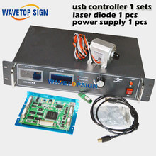 usb yag laser control card 1sets analog signal control+ laser diode 50w 1pcs+laser power supply 50w 1pcs(China)