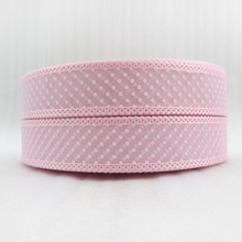 (5yds per roll)  1''(25mm) dot tooth ribbon high quality 5 yards, DIY handmade materials, wedding gift wrap,5Y47470