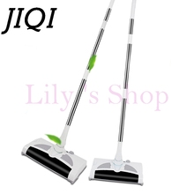 JIQI wireless Rechargeable electric Vacuum Cleaner Hand Cordless mopping sweeper drag sweeping Broom mop robot Dust Collector EU(China)