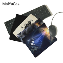 MaiYaCa Custom Doctor Who Anti-Slip Rectangle Mouse Pad Customized Supported 220mmX180mmX2mm&250mmx290mmx2mm(China)