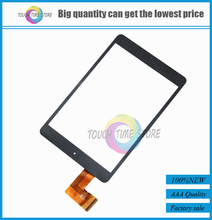 "10pcs/lot New 7.9"" Inch Touch Screen Digitizer For Road M3C Tablet PC HS1282 V190 Black FM801701KC QSD E-C8037-02(China)"