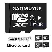 GAOMUYUE Micro SD Card 16GB 32GB 64GB 128GB Memory Card Class10 XC Mini SD Card 8GB-16GB-C6 HC TF Card for phones DW5(China)