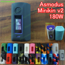 1pc Asmodus minikin v2 180W Silicone case Factory Good price for Minkin 2 180W Box for  TC Vapor for  Protective Skin Case Cover