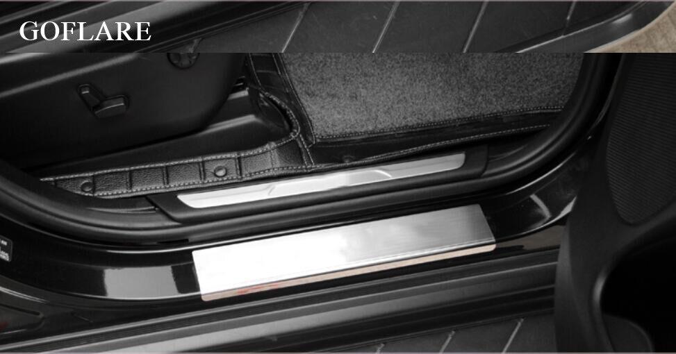 2011-2019  Dodge Durango Door Sill Entry Guards Scuff Plates Mopar Accessory