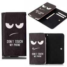 Magnetic Flip Wallet Cover PU Leather Cartoon Painting Case Phone Pouch Case For HTC Desire 820 / Desire 816(China)