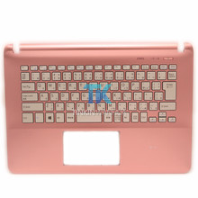 New Original SVF142 Japanese Keyboard for SONY Laptop Keyboard without Touchpad Pink / Black Color