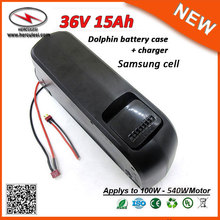 Manufacturer Supply Dolphin Type 500W Lithium Ion Battery 36V Electric Bike Battery 36V 15Ah Li Ion Battery Pack with Usb Port