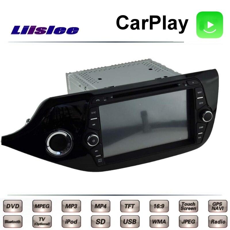 For KIA Ceed Cee\'d JD 2012~2017 Car Multimedia TV DVD GPS Radio Carplay Original Style Navigation Liislee Advanced Navi 1