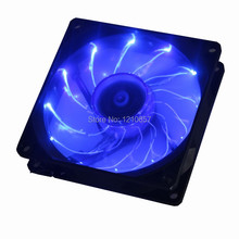 2PCS lot 3Pin Cooling CPU Heatsink Fan LED Blue Light for Computer PC Case 92 x 25mm 90mm
