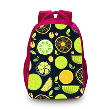BAOBEIKU 3D Backpacks Fashion Fruits Print Bags For Christmas Childrens School Laptop Kids Backpack Dropshipping