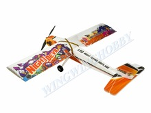 Free Shipping RC Plane LED Light Pre-installed Aircraft EPP 3D Airplane Night Flying Wingspan 1000mm Model Night Devil(China)