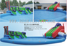 China Best Supplier for Inflatable Slide Top Quality Inflatable Pool HZ-E009