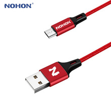Original NOHON Micro USB Cable For Samsung Huawei HTC Nokia Android Mobile Phone Fast Charger Charging USB Cable Data Sync Wire(China)