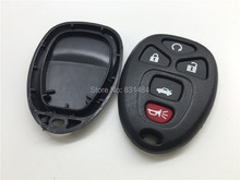 25pcs/lot Remote Key Fob Cover 5 Button For Chevrolet Malibu Pontiac G5 G6 Buick Lacrosse Lucerne Cadillac Key Shell