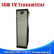 CZH518D-1kW 1kw DVB-T Digital TV Territorial Broadcast Transmitter RS485/232 MCU Control for Professional TV Station