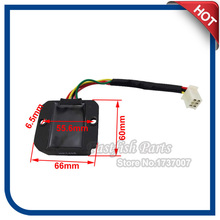 5 Wires Voltage Regulator Rectifier For GY6 50 125 150 cc ATV Quad Moped Scooter