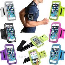 Running Sports Arm band For iphone 6 Pouch Nylon Soft Canvas Case Cover For Apple SE 5 5S 6 6S / Plus Phone Cases Holster Coque