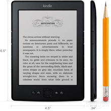 Kindle 5 100% original e-book reader K5 ink screen electric paper book Machine + USB cable + package + Book CD Free shipping