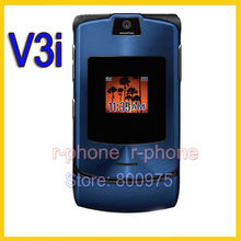 Hot Sale Unlocked Original Motorola Razr V3i Mobile Cell Phone GSM Quan-Band Camera Bluetooth MP3 Refurbished Phone(China)