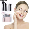 ELECOOL comb hair brush professional Soft Black Neck Face Duster Brushes Bristle Stylist Barber Salon Cut Styling Make Tools