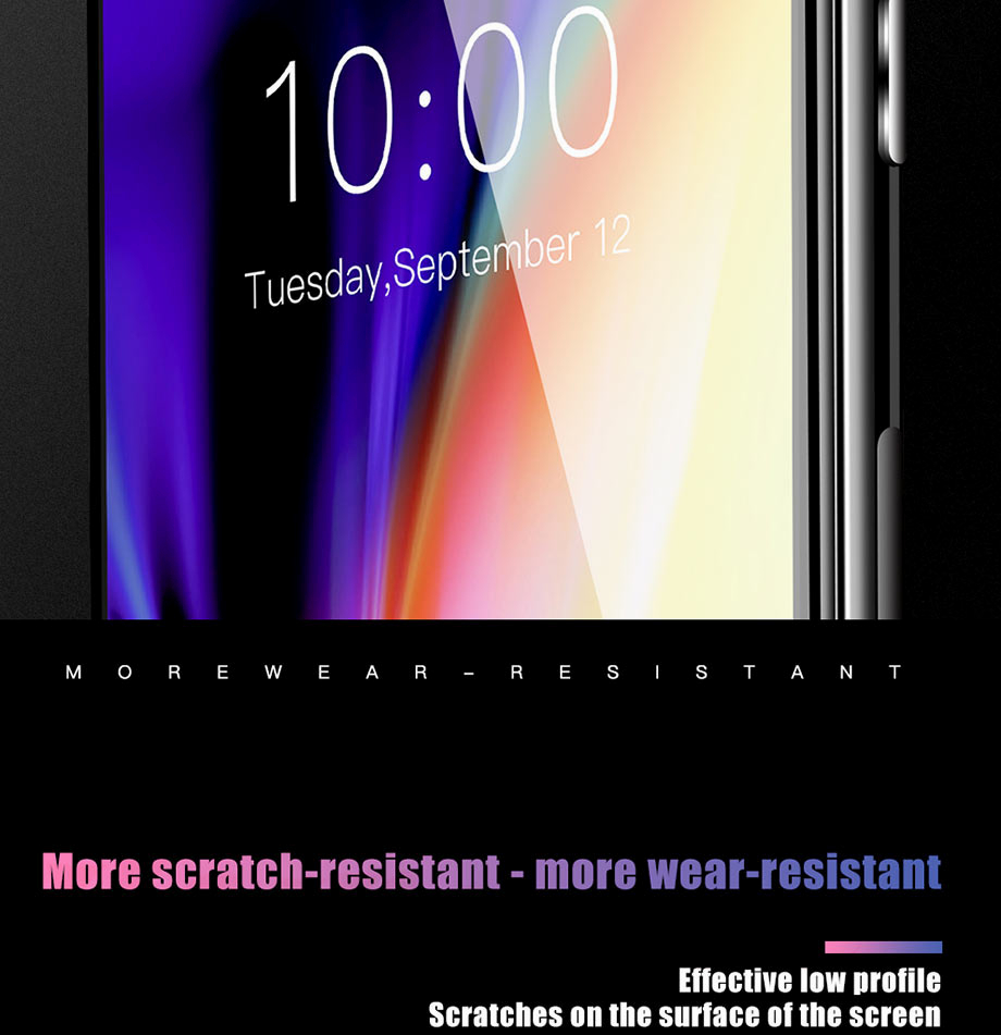 10 For iPhone 5 5s SE Glass For iPhone 6 6s Glass For iPhone X 10 Glass For iPhone 7 7 Plus glass for iphone 8 8 plus glass on the for iphone 7 6 8 5s Protective glass on the iphone 7 6 5s 8 (2)