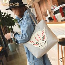 Winter Bags Tiger Printed Shoulder Bag Lady Large Capacity Casual Tote Bags Women Daily Use Shopping Bag Female Canvas Handbags