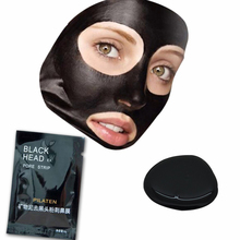 40pcs/lot black mask pilaten Nose Facial Blackhead Remover Mask Minerals Pore Cleanser Black Head Pore Strip nose Close pore(China)