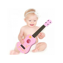 Baby Kid 21 Inch 4 String Toy Musical Instrument Children Guitar Toy Learning & Education Ukulele Gift