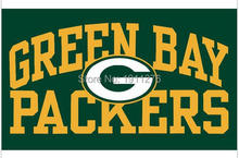3X5FT NFL Green Bay Packers Flag 3ft x 5ft Polyester Banner 90x150cm white sleeve with 2 Metal Grommets