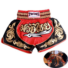 New Brand MMA shorts pantalonetas muay thai boxing shorts pantalon boxeo tights fight Fitness shorts for kids Men(China)