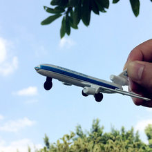 Classic Toys ! Alloy model plane royal Dutch airlines F804 model plane model plane toy children's favorite gift