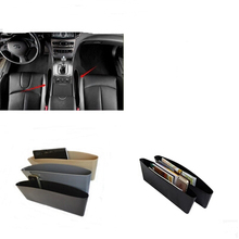 Car styling Seat Gap Leakproof Pad Storage Box For FIAT 500 Idea Uno Palio Freemont Cross Coroma Panda Tipo Punto