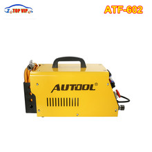 The Newest AUTOOL ATF602 Car Automatic Transmission Fluid Exchanger 12V Mechanical Testers Gearbox Oil Exchange Cleaning Machine