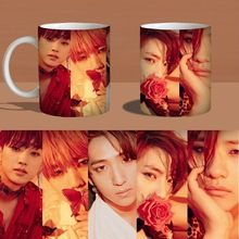 B1A4 mini album SWEET GIRL color changing mug Color Changeing Mug Print Anime Coffee Cup Man Morning Tea Cups With Gift Box
