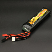 Best Deal YW 11.1V 2200MAH 8C Lipo Battery Rechargeable Lipo Battery RC Battery for WFLY JR Walkera FS Transmitter