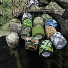 Tactical Waterproof Camo Duct Tape Gun Hunting Camping Camouflage Stealth Tape Prevent From Scratches Slippage On Rocks