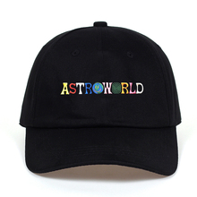 Travi $ Scott l'ultimo album ASTROWORLD Papà Cappello 100% Cotone di Alta qualità del ricamo Astroworld Cappellini da Baseball Unisex Travis Scott(China)